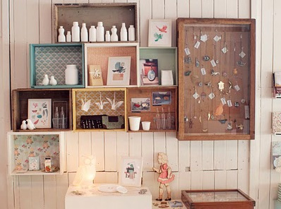 Buttons Smiles And Vintage Styles - Best vintage storage ideas
