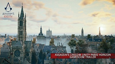 Assassin's Creed Unity (Game) - Paris Horizon Gamescom 2014 Trailer - Song / Music