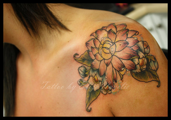 Cute Shoulder Tattoo Designs