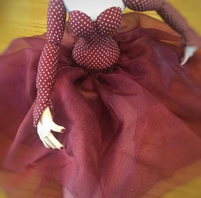 Cloth art doll