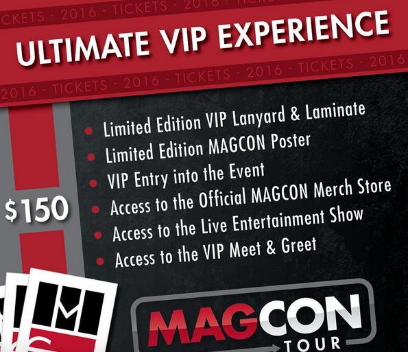 Magcon Tour Official Website