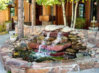 klikrumahanda: air terjun untuk taman mungil