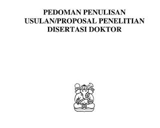 Contoh Usulan/ Proposal Penelitian Disertasi Doktor Pdf Download