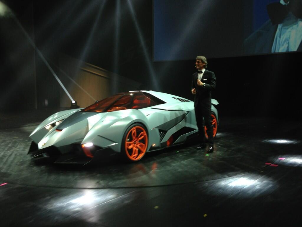 Lamborghini Egoista The Selfish Concept To Celebrate 50 Years