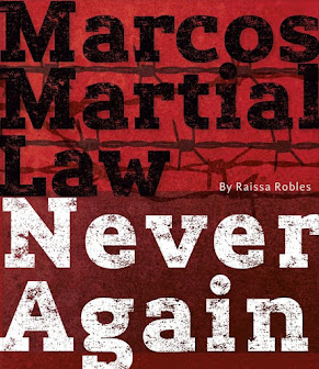 Books in my collection: Marcos Martial Law... Never Again by Raissa Robles