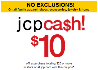 $JCPenney Coupon