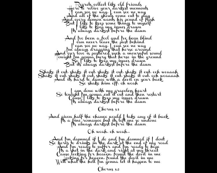 happiness machine lyrics