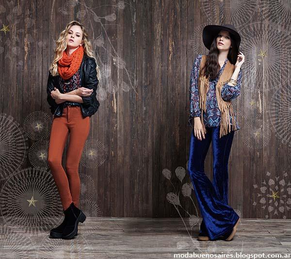 Pantalones oxford otoño invierno 2014 moda invierno 2014 Rimmel.