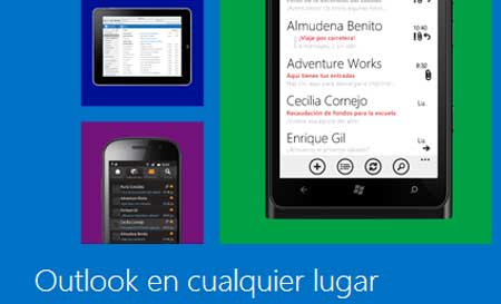 Telefonos moviles Outlook.com