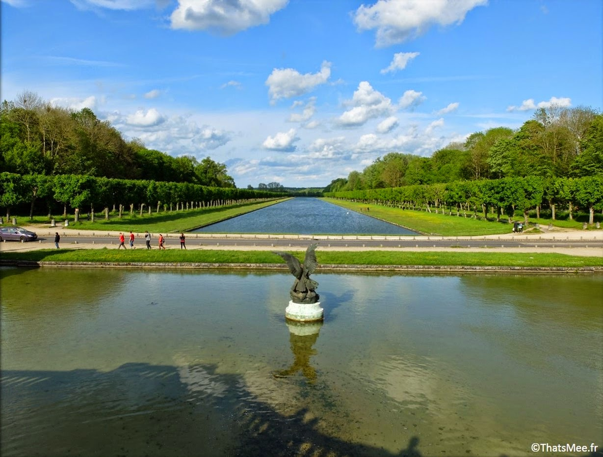 parc jardins fontaine Lenotre Chateau de Fontainebleau Napoleon François Ier Renaissance Seine-et-Marne 77 tourisme