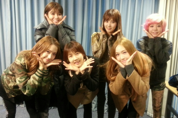 {130111} SNSD @ Park So Hyun Love Game Radio Pictures 130111parksohyunlovegame