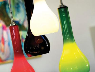 The Carafe NX401 Pendant - White Glass Handmade Pendant, Ripasso Stylish Lamp 18443001