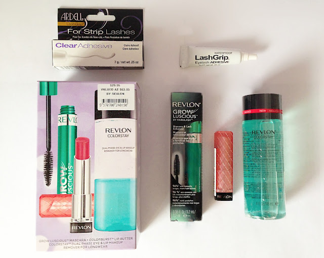 june, hauls, twoplicates, beauty blog, review, ardell lash adhesive, revlon lip butter, mascara, liquid makeup remover,