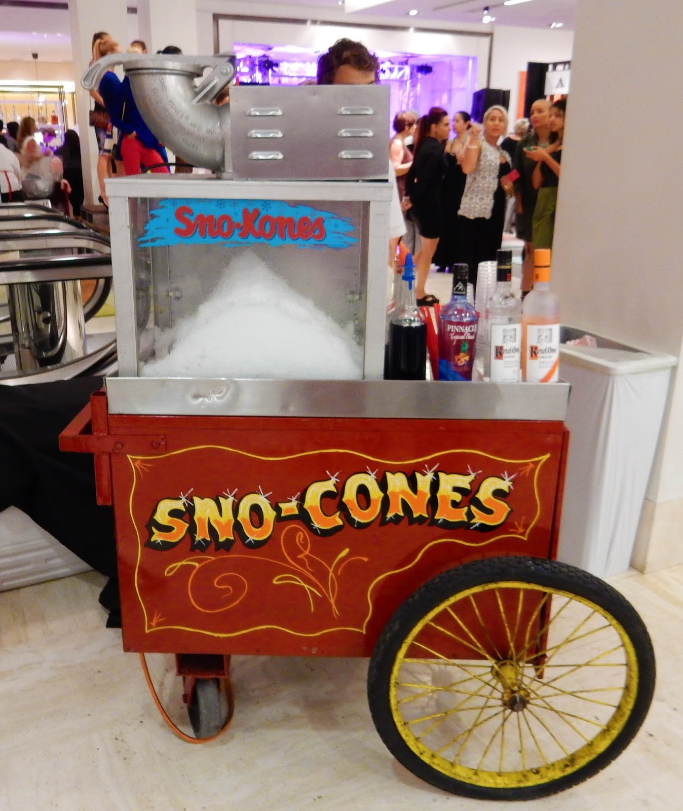 Kettle One Vodka Snow Cones