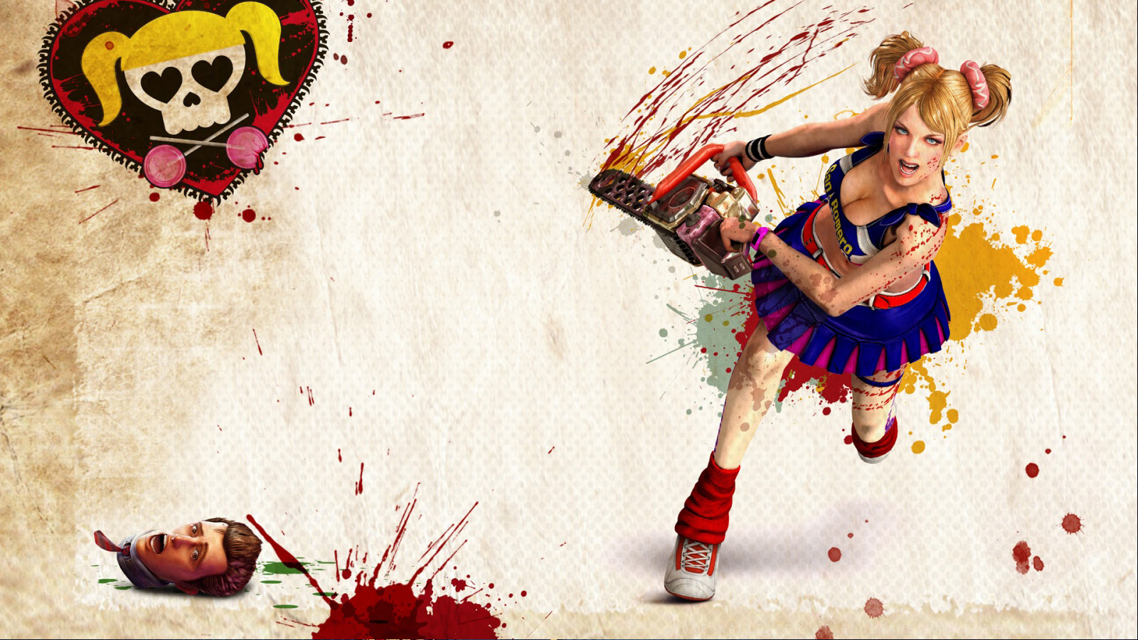 Juliet Cheerleader Zombie Hunter #6963006 7 Themes  - juliet cheerleader zombie hunter wallpapers