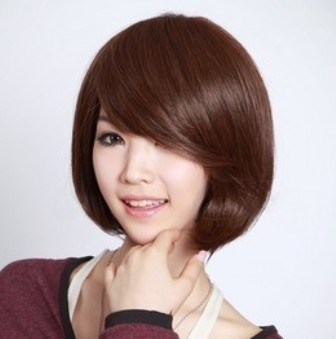 Model rambut pendek untuk wajah bulat  Trend Model Terbaru