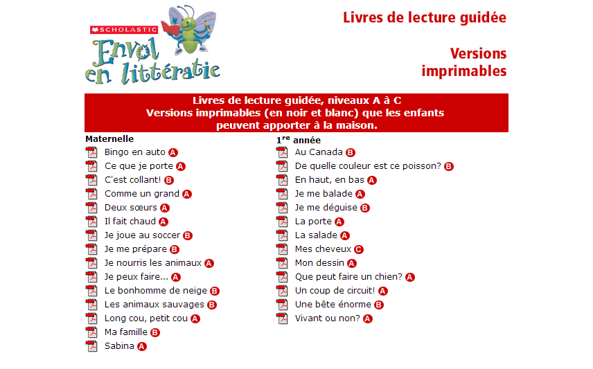 image relating to Printable Grade Books called Absolutely free printable French textbooks - Most important French Immersion Supplies