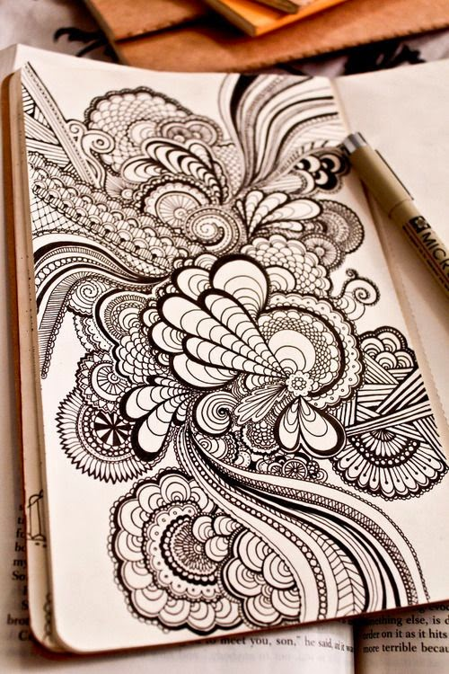 zentangle-large-scale