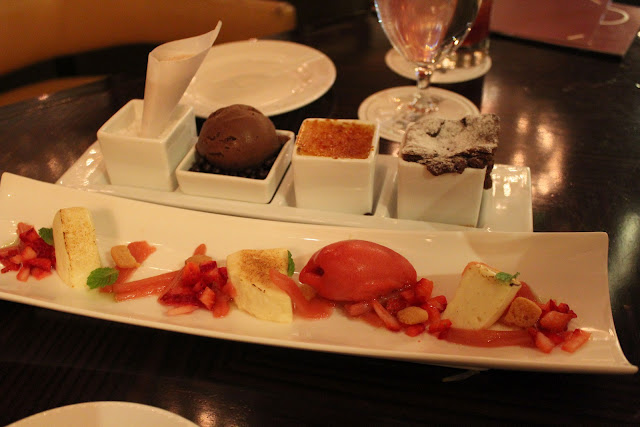 Desserts at Bond, Boston, Mass.
