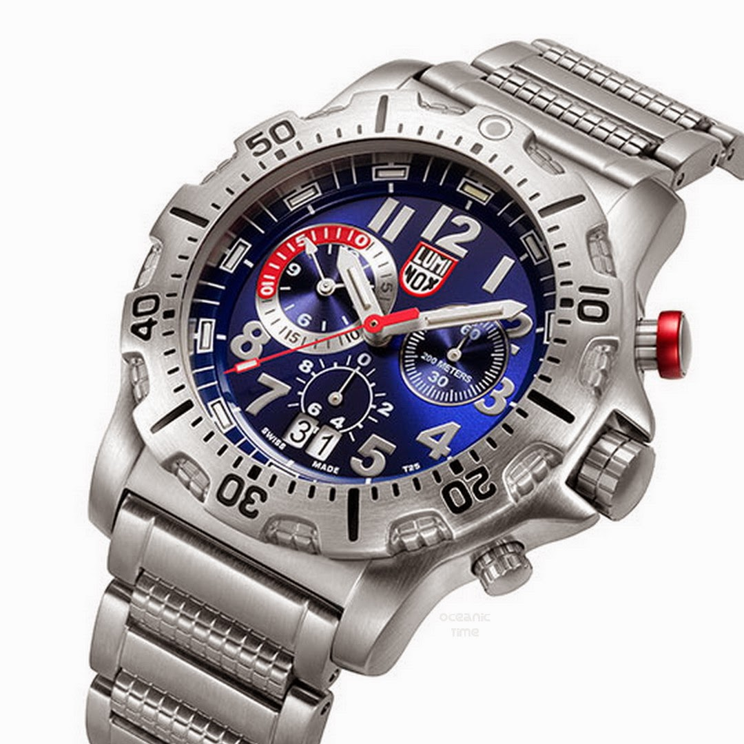 Oceanictime luminox dive chrono 8150 8350 series - Luminox dive watch ...