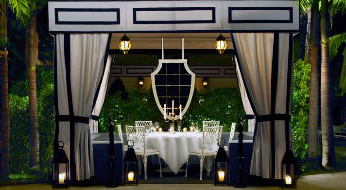 Viceroy Santa Monica - Dining Cabana & Knight Moves: Cabana-tastic
