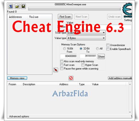 Cheat engine 6.3 скачать