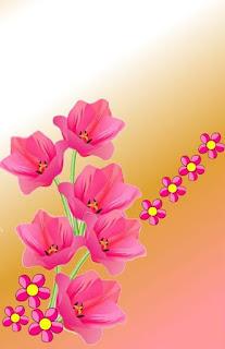 adesivos de unhas flores
