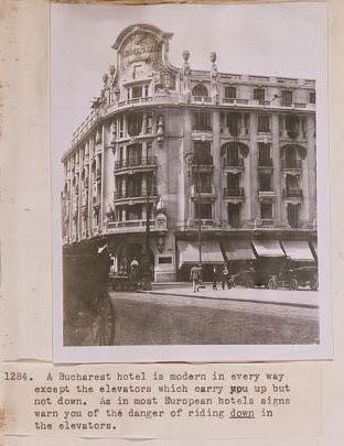 Hotel din Bucurestiul interbelic