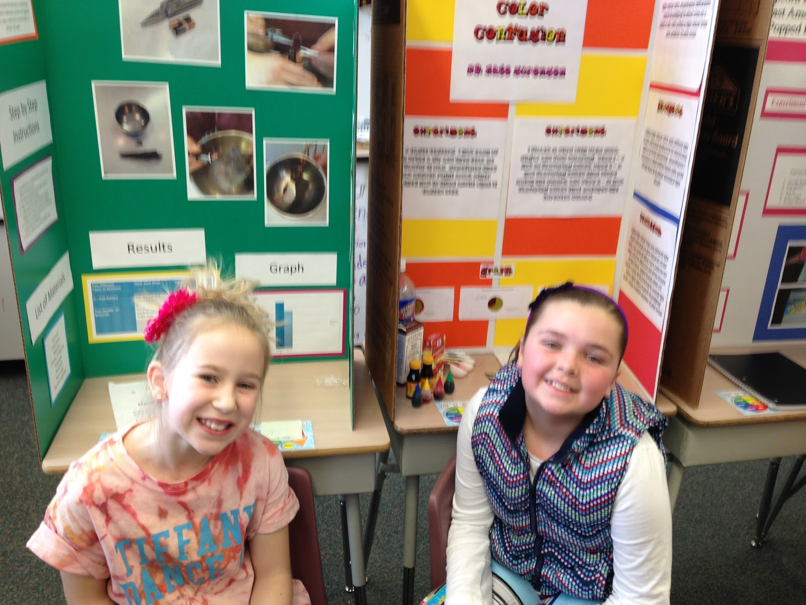 4th grade science fair projects for girls