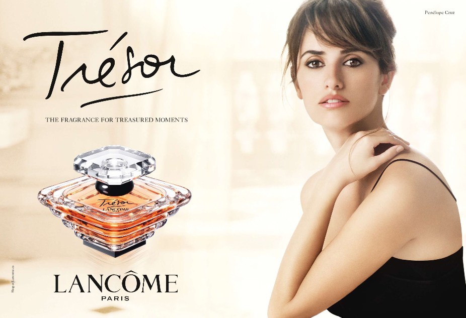 the face of beauty celebrity fragrance penelope cruz is the face of lancome s fragrance. Black Bedroom Furniture Sets. Home Design Ideas
