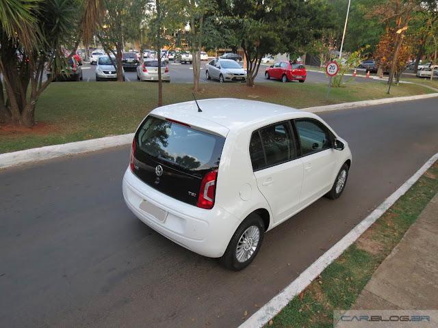 Volkswagen Up! TSI - consumo