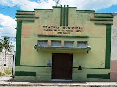 """HOJE TEATRO MUNICIPAL FRANCISCA EMÍLIA DA FONSECA SANTOS """"DONA CHICOTA"""""""