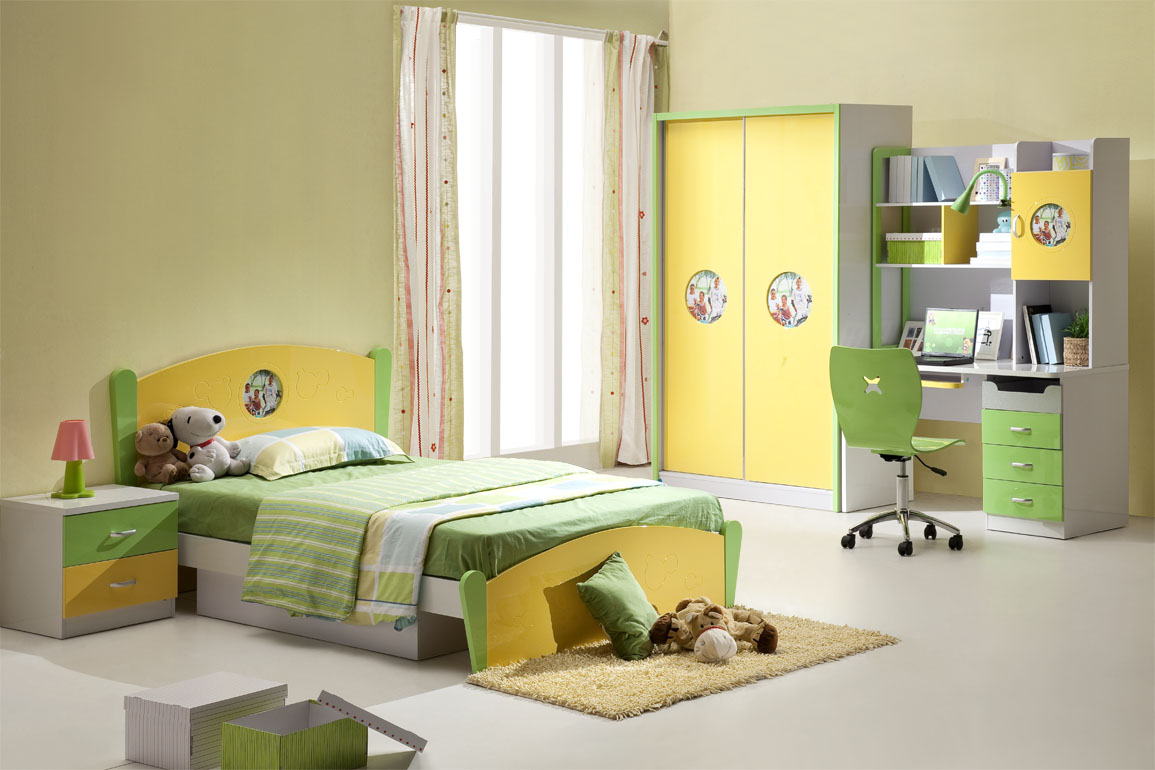 Kids bedroom furniture designs an interior design - Children bedrooms ...