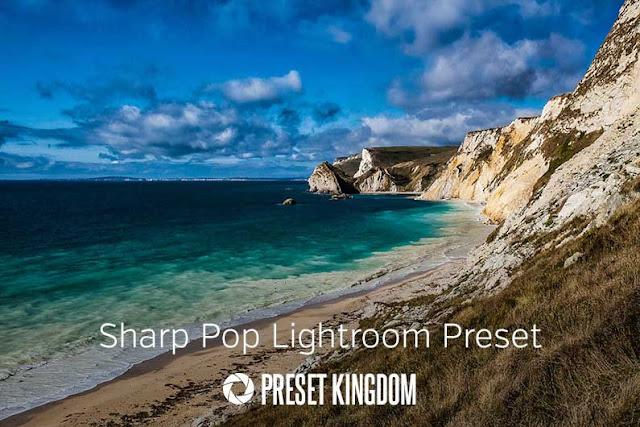 Sharp Color Pop Lightroom Preset