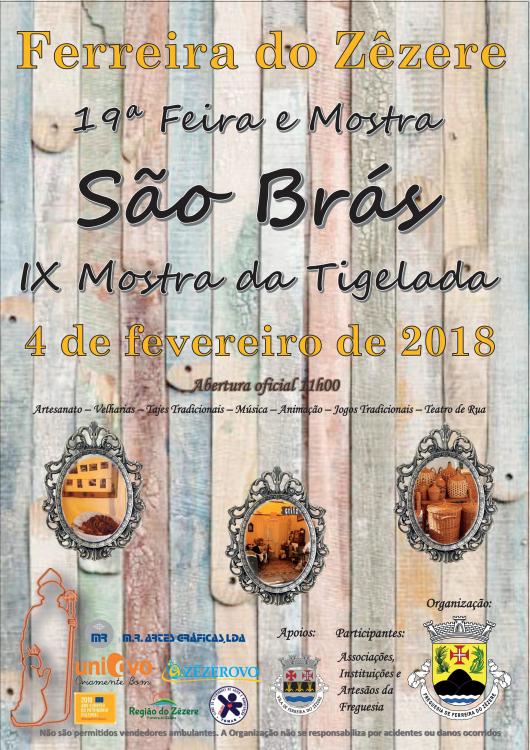 Feira de São Brás - 4 de Fevereiro em Ferreira do Zêzere