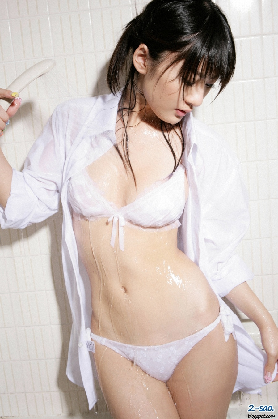 japanese sexy girls   mayu mitsui sexy white dress japanese girls