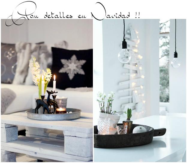 Decorar con bandejas composiciones sencillas y bonitas for Bandejas de navidad