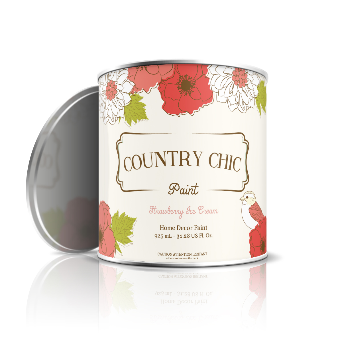 Country Chic Paint On Packaging Of The World