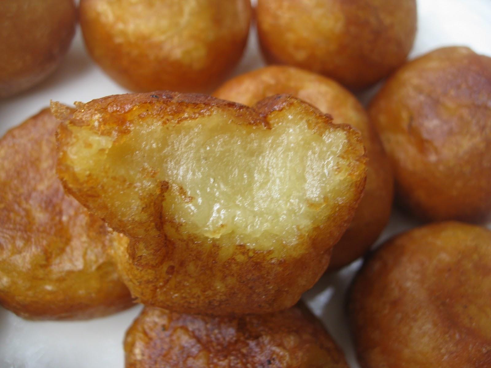 My Asian Kitchen Fried Sweet Potato Ball