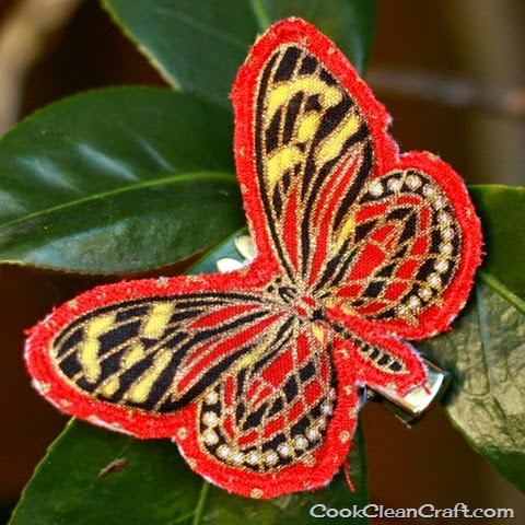 http://cookcleancraft.com/2014/06/how-to-sew-butterfly-hair-clips/