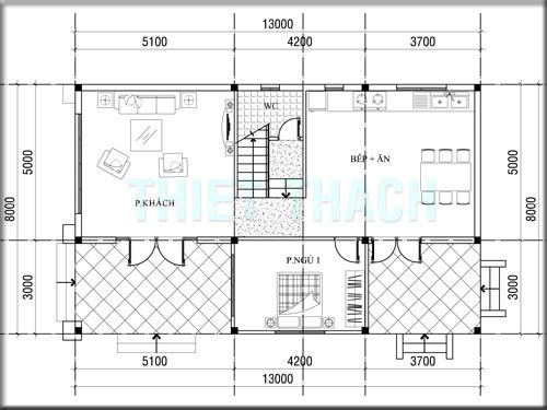 mô phỏng thiết kế xây nhà trọn gói