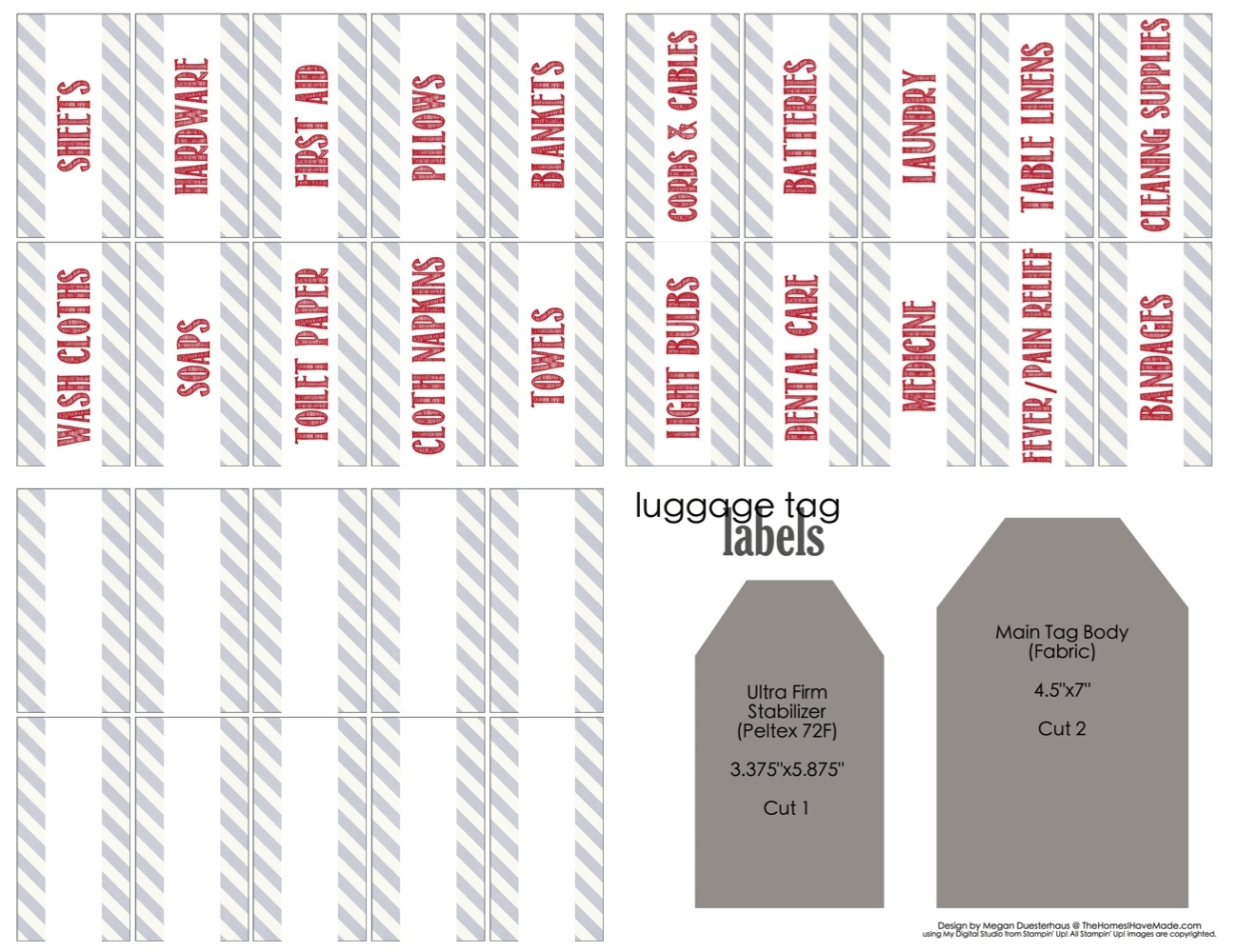 Linen Closet Labels With Free Printable Labels The Homes I Have Made