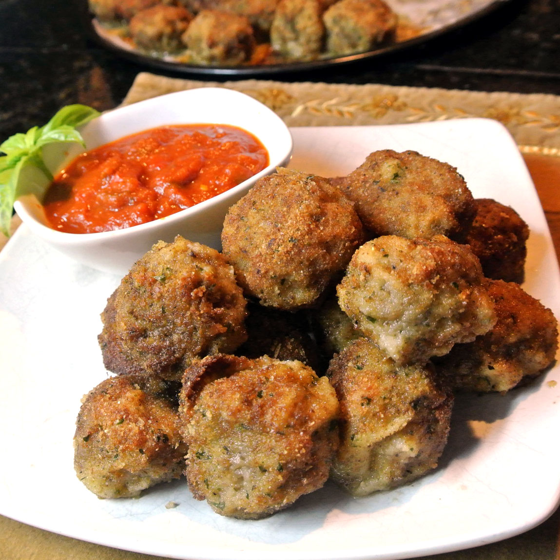 Mom, What's For Dinner?: Ricotta Fried Meatballs