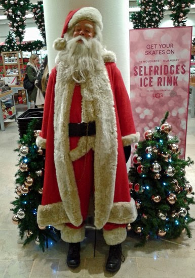 Trafford Centre, Christmas, Selfridges, Santa Claus