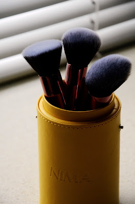 Nima Brush Elite collection rose gold