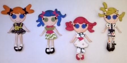 My little gals made by Zena Kennedy Independent Stampin Up demonstrator