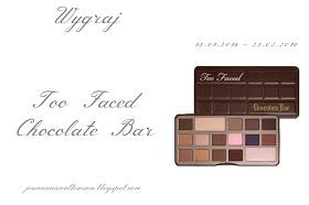 Wygraj Paletkę Too Faced Chocolate Bar