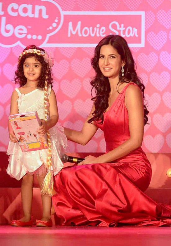 Barbie Special Launch Bollywood Actress Katrina Kaif Hot Stills pink dress gallery pictures