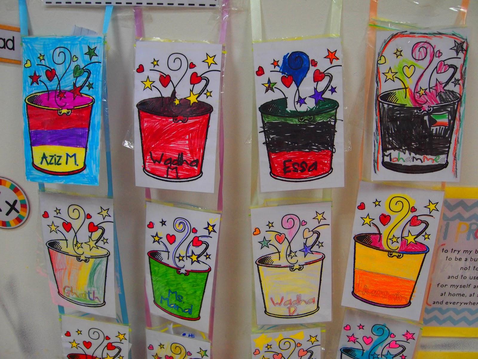 Bucket Filler Template Gallery - Template Design Ideas