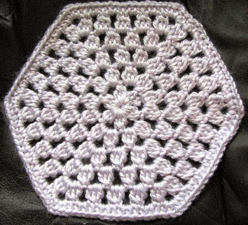 Cubrecama tejido al crochet - con patrón